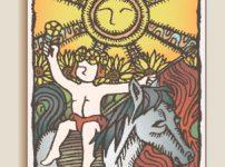 タロットカード「太陽」